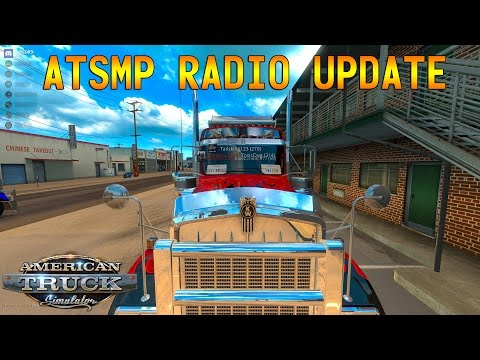 American Truck Sim Multiplayer - Radio Update - Wheel Cam - G29+Shifter+TrackIR