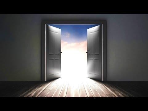 Deus abriu a porta da oportunidade - esse é o tempo de entrar
