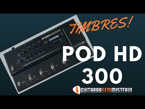 POD HD 300 Timbres Style Lincoln Brewster