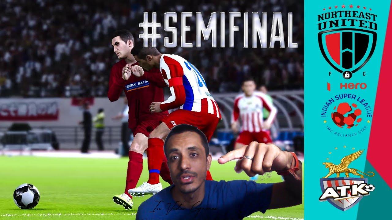 Semi Final 2 - NorthEast United vs ATK Mohun Bagan Highlights ISL 7 Hero 2020-21 eFootball PES 2021