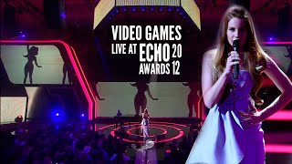Lana Del Rey - Video Games (Live at the Echo Awards 2012) [Legendado] Thumbnail
