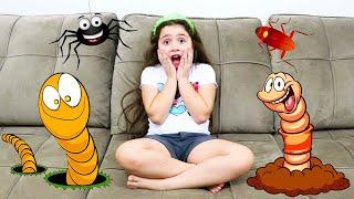 Heloísa mostra como as crianças não devem se comportar ♥ Story about how Kids should not behave