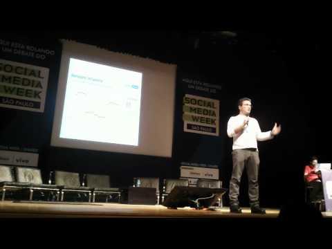 minha palestra no Social Media Week São Paulo