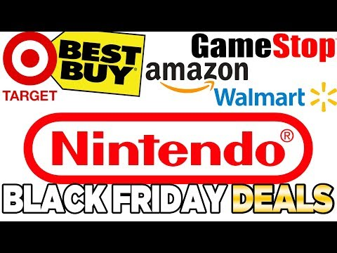 Black Friday 2018 Nintendo Switch DEALS!