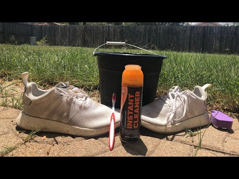 DIY- Shoe Cleaning under $5