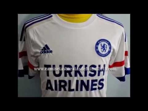 Camiseta Chelsea 2015-2016 primera equipación y segunda equipación