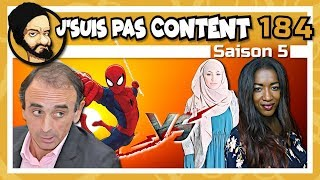 I'M NOT HAPPY! #184: Hapsatou Sy VS Zemmour, Spiderman VS Islam & Benalla VS Mythos !