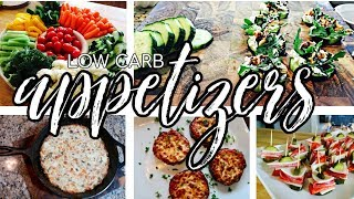 LOW CARB APPETIZERS | Stay on track this holiday season! | lil Piece of Hart