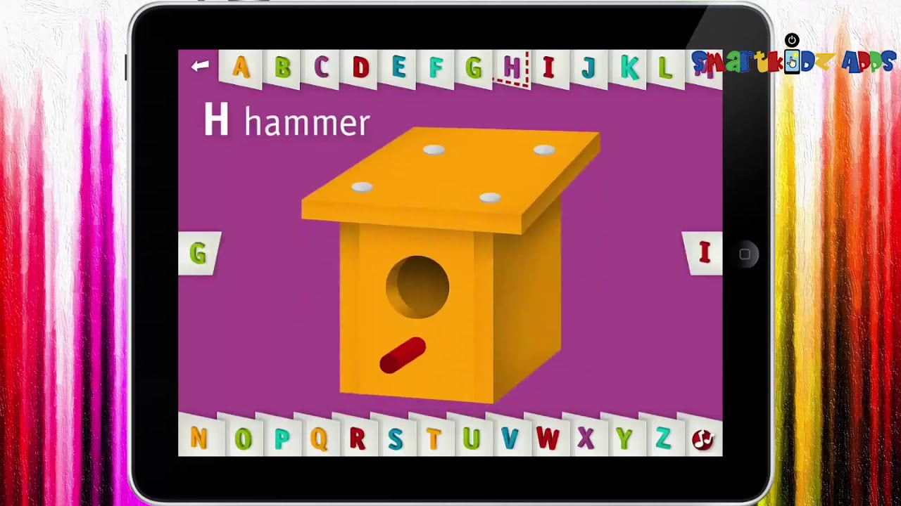 Abc video AlphaTots Alphabet By Spinlight Studio✿★ - Nice Alphabet song  learning App Review Gameplay