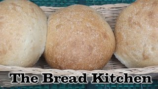 How to Make Simple Bread Rolls in The Bread Kitchen