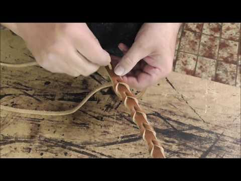 laced rein how to attach the lace to make laced reins
