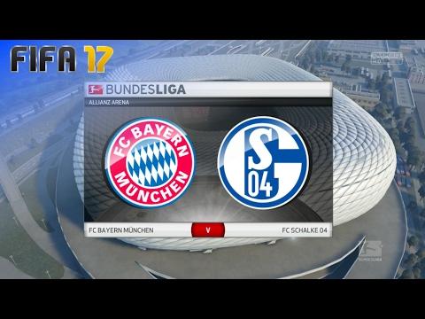 FIFA 17 - FC Bayern München vs. FC Schalke 04 @ Allianz Arena