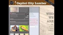 Capitol City Lumber Website