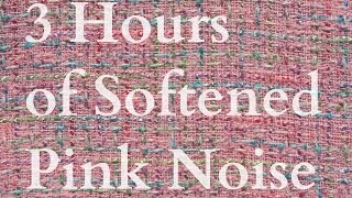 Baby Sleep Aid - 3 Hours of Softened Pink Noise HD