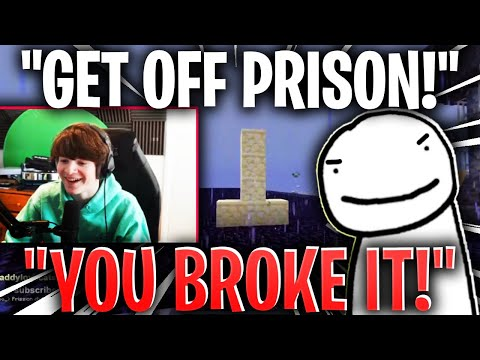 Tubbo BREAKS DREAM'S PRISON WITH RANBOO! (dream smp)