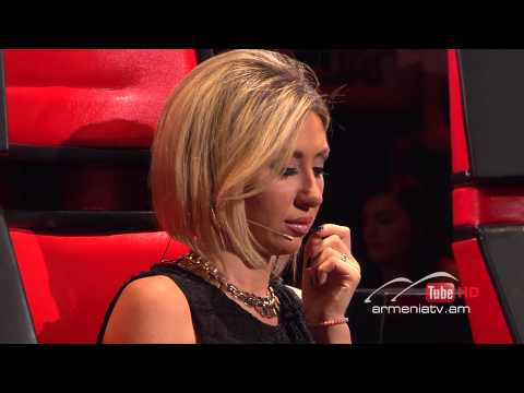 Tatev Asatryan,Ես կուլամ by Dorians - The Voice Of Armenia - Blind Auditions - Season 2