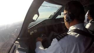 Embraer Lineage landing at Teterboro (KTEB)