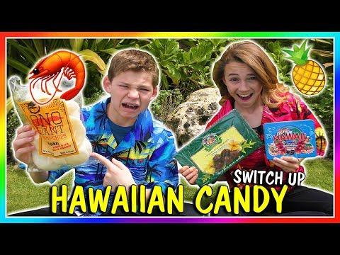 HAWAIIAN CANDY SWITCH UP CHALLENGE  We Are The Davises