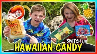 HAWAIIAN CANDY SWITCH UP CHALLENGE | We Are The Davises