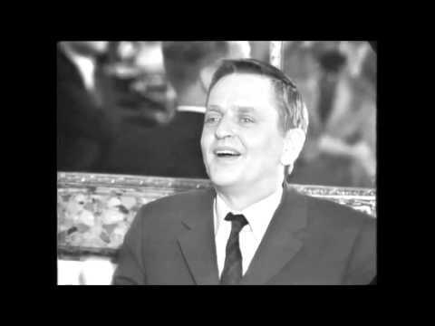 Palme skojar på franska om svensk företagsman