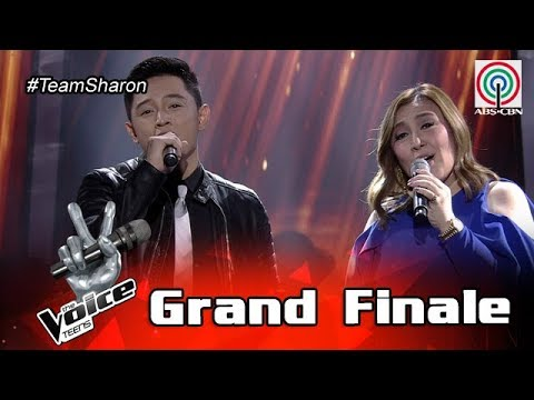 The Voice Teens Philippines Grand Finale: Coach Sharon & Jeremy - I'll Never Love This Way Again