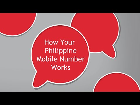How Your Philippine Mobile Number Works