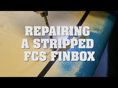 Repairing a Stripped FCS Finbox