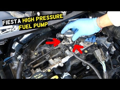 ford fiesta st high pressure fuel pump replacement removal