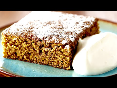 Classic Gingerbread Cake Baked By Anna Olson!