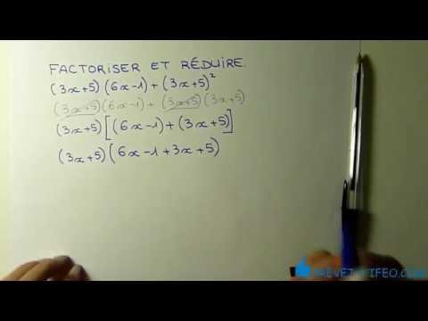 Factorisation Exercice Type Brevet Correction Et Astuces Youtube