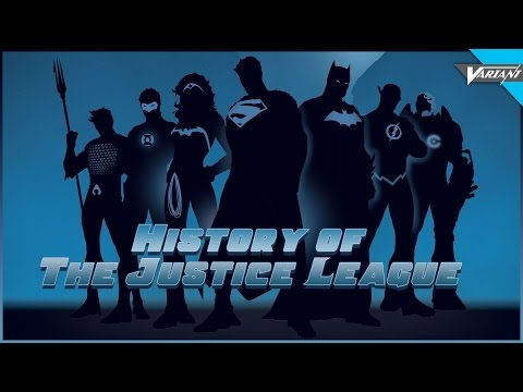 History Of The Justice League!