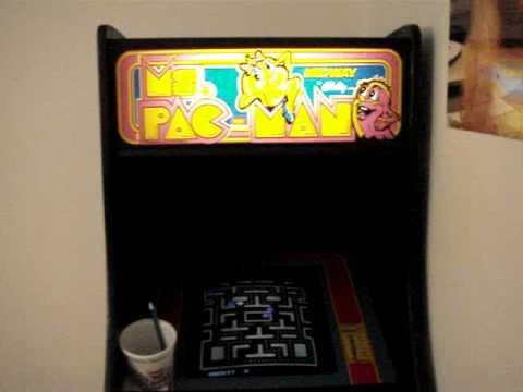 My Ms. Pacman Arcade Machine In My Bedroom