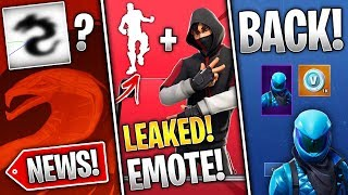 Fortnite News | Secret Emote, Honor Skin VBucks, Season 8 Teaser Secrets, Eggs & More!