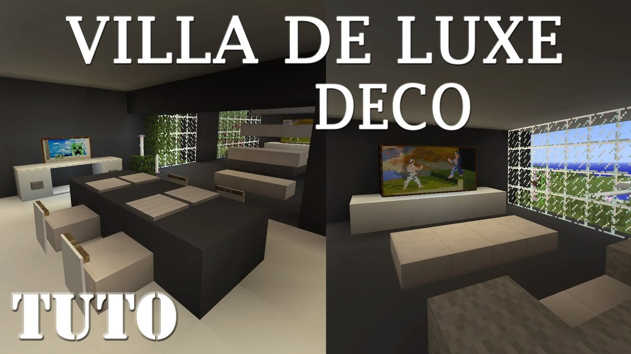 Maison De Luxe Dans Minecraft | Ventana Blog