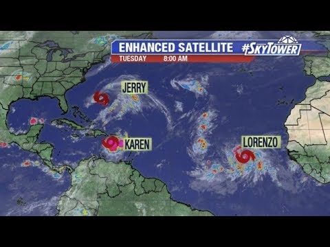 Tropical Weather Forecast: Sept. 24, 2019