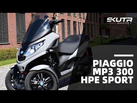 Piaggio MP3 300 HPE Sport: Individualita, Na Kterou Stačí řidičák Na Auto