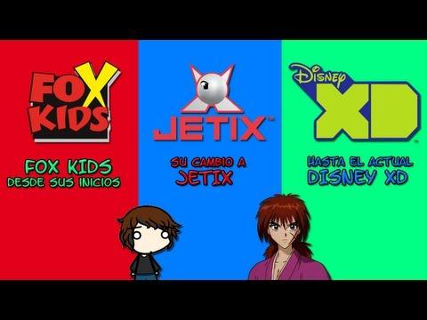 Fox kids, desde sus inicios, cambio a Jetix, hasta el actual Disney XD
