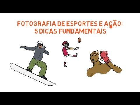 Fotografia de Esportes e Ação: 5 Dicas Fundamentais