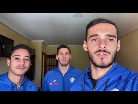 Los jugadores brasileños del Ourense CF tienen un mensaje: #Quédateencasa