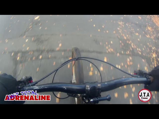Short Cycling ChestCam video in Hawick, Scotland on Mongoose Fireball Hardtail using GoXtreme 4k