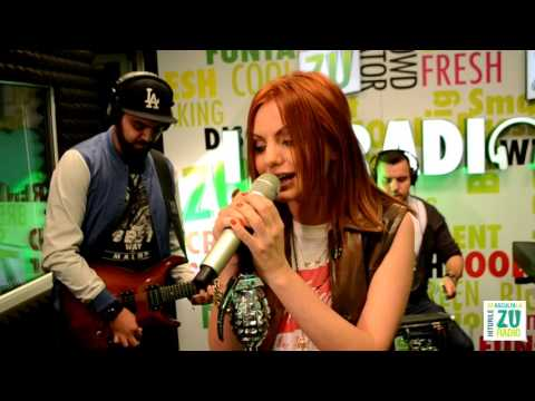 Alexandra Stan - Get Back ASAP and Mr. Saxobeat | LIVE on Radio ZU