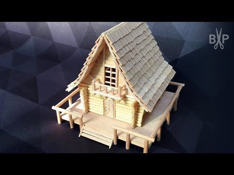 DIY Miniature Log House