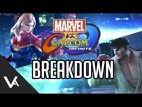 Marvel Vs Capcom Infinite - 2v2 Format, Story Mode And Infinity Gem System