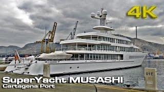 Superyacht Musashi 2017 [4K]