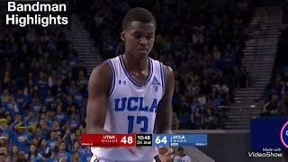 Kris Wilkes UCLA vs Utah / 1.11.18 / Highlights/ 19pts 4reb 4stl