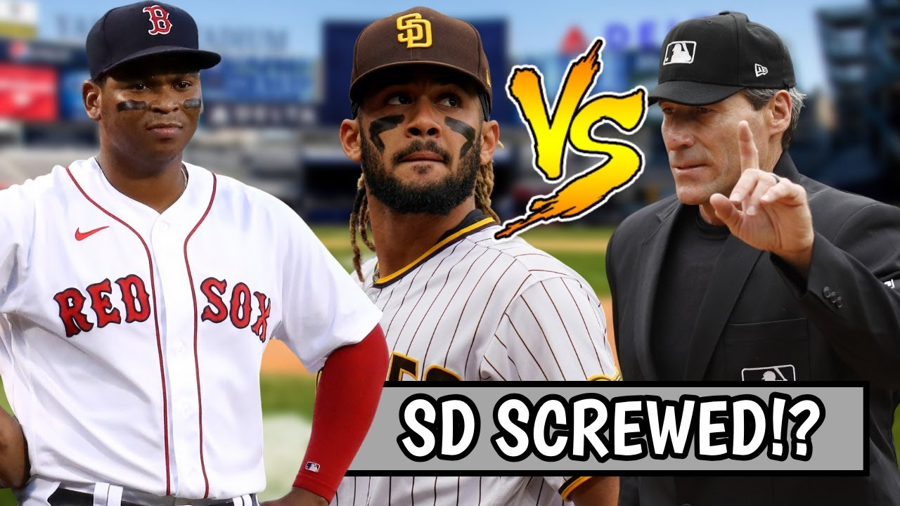 Padres SCREWED Out of Win By Umpires? Red Sox BAD LOSS to Yankees, George Springer (MLB Recap)