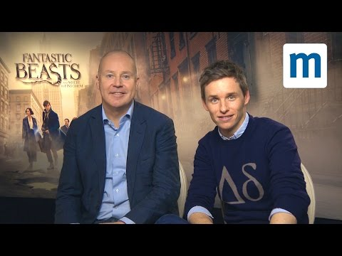 Eddie Redmayne and David Yates  tastic Beasts and Where to Find them