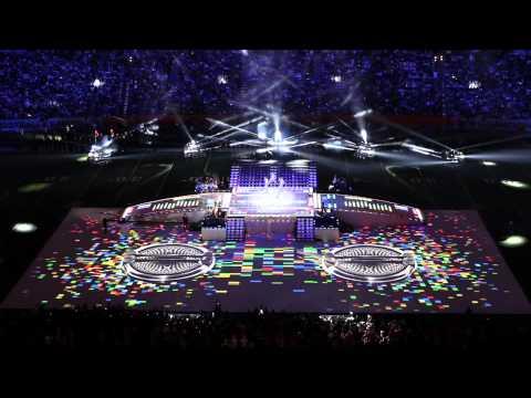 Barco Large Venue HD Projectors Enliven Super Bowl XLVI Halftime Show