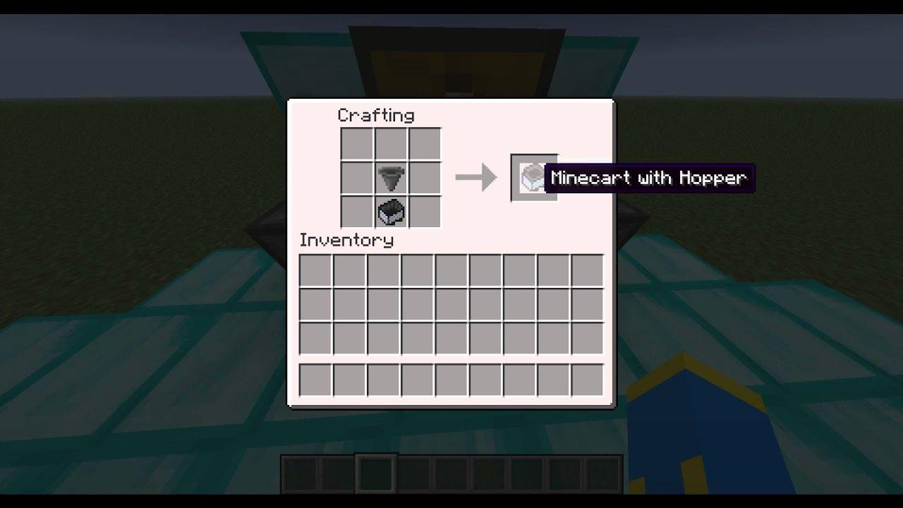 minecraft how to make hopper work