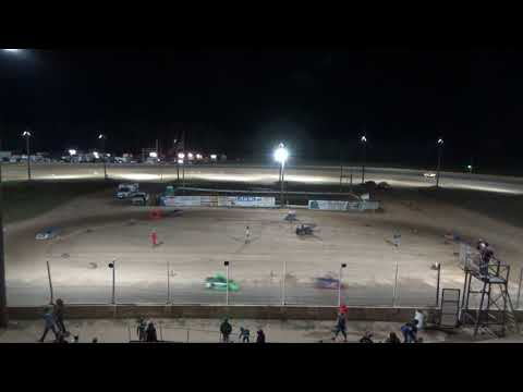 Mini Wedge Feature #1 at Crystal Motor Speedway, Michigan on 09-16-2017!!